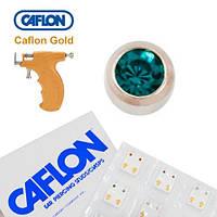 Серьги для прокола ушей Caflon Голубой цирконий 3 мм