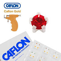 Серьги для прокола ушей Caflon крапан Гранат 3 мм