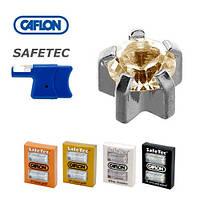 Серьги для прокола ушей Caflon Safe Tec крапан Кристалл 3 мм