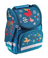 Рюкзак шкільний ZiBi Top Zip TEAL (16.0102TL) каркасний