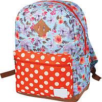 Рюкзак шкільний ZiBi Simple FLOWERS (16.0609FR)