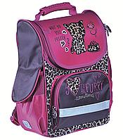 Рюкзак шкільний ZiBi Top Zip FURRY CAT (16.0122FC) каркасний