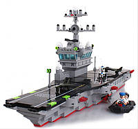 Конструктор BRICK-826 Военный корабль 508 дет