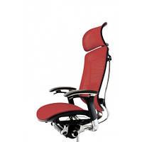 Кресло для руководителя, с подголовником, сетка OKAMURA CONTESSA
