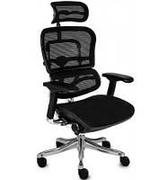 Кресло компьютерное эргономичное, черного цвета ERGOHUMAN PLUS