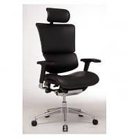 Кресло для руководителя, эргономичное цвет черный  EXPERT SAIL LEATHER (SAL01-G)