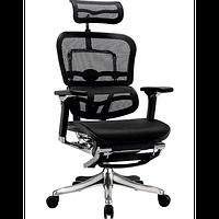 Кресло компьютерное, эргономичное с подставкой для ног  ERGOHUMAN PLUS