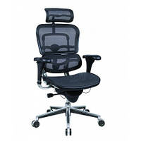 Кресло компьютерное, эргономичное, черный цвет ERGOHUMAN