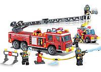 Конструктор BRICK-904 Пожарная охрана 364дет