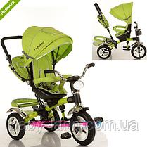 Велосипед-коляска детский музыка+фара, надувные колеса M 3199-4HA