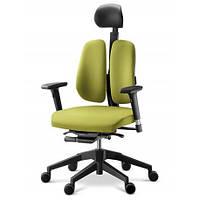 Кресло для руководителя ортопедическое, цвет зелёный DUOREST ALPHA A30H
