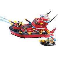 Конструктор BRICK-906 Пожарная охрана 340дет.