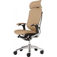 Кресло для руководителя, кожаное с подголовником OKAMURA CONTESSA