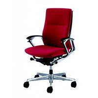 Кресло для руководителя премиум класса, с тканевой обивкой OKAMURA DUKE