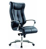 Кресло для руководителя кожаное F141