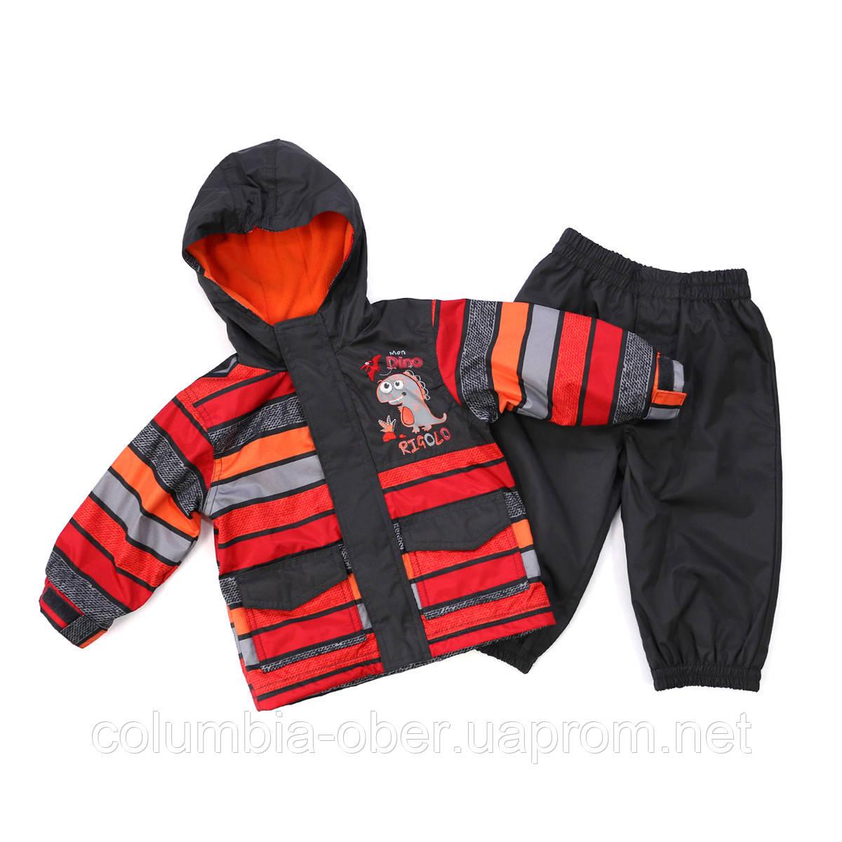Демисезонный костюм для мальчика Peluche 11 M S17 Frost Grey. Размеры 85 и 96.
