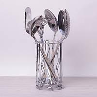 Кухонных набор принадлежностей Kamille 6 предметов в комплекте с подставкой