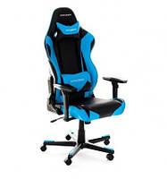 Кресло для геймера, компьютерное, черно-синее DXRACER OH/RF0/NB