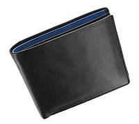 Мужское портмоне Visconti PM101 Pablo черное с синим
