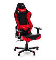 Кресло для геймера, компьютерное черно-красное DXRACER OH/RF0/NR