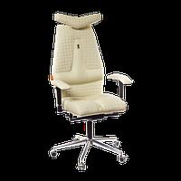 Кресло для руководителя ортопедическое, песочное KULIK-SYSTEM JET