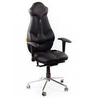 Кресло для руководителя ортопедическое, черное KULIK SYSTEM IMPERIAL