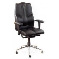 Кресло для руководителя ортопедическое, черное KULIK SYSTEM BUSINESS