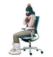 Кресло для персонала, с подогревом и вентиляцией KLOBER MERA KLIMASTUHL