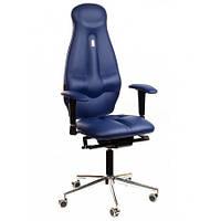 Кресло для оператора ортопедическое синее KULIK SYSTEM GALAXY