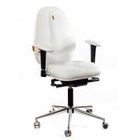 Кресло для оператора ортопедическое белое KULIK SYSTEM СLASSIC