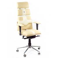 Кресло для оператора ортопедическое бежево-песочное KULIK SYSTEM PYRAMID