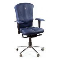 Кресло для оператора ортопедическое синее KULIK SYSTEM VICTORY