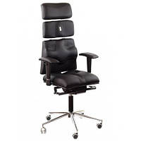 Кресло для оператора ортопедическое черное KULIK SYSTEM PYRAMID