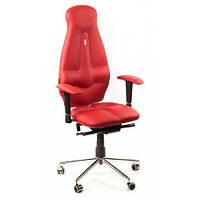 Кресло для оператора ортопедическое красное KULIK SYSTEM GALAXY