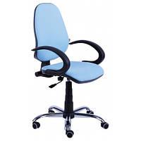 Кресло для оператора, офисное бридж хром ПК/АМФ-5