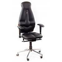 Кресло для оператора ортопедическое черное KULIK SYSTEM GALAXY