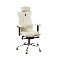 Кресло для оператора ортопедическое белое KULIK SYSTEM ELEGANCE