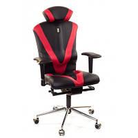 Кресло для оператора ортопедическое черно-красное KULIK SYSTEM VICTORY