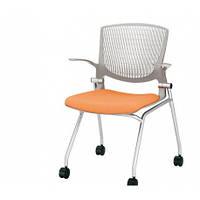 Кресло для посетителей с подлокотниками OKAMURA GRATA