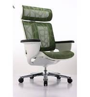 Кресло-реклайнер для дома и офиса NUVEM GREEN MESH