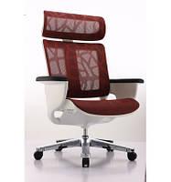 Кресло-реклайнер для дома и офиса NUVEM RED MESH