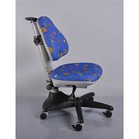 Кресло обивка синяя с жучками MEALUX Y-317 BB