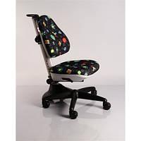 Кресло обивка черная с жучками MEALUX Y-317 GB