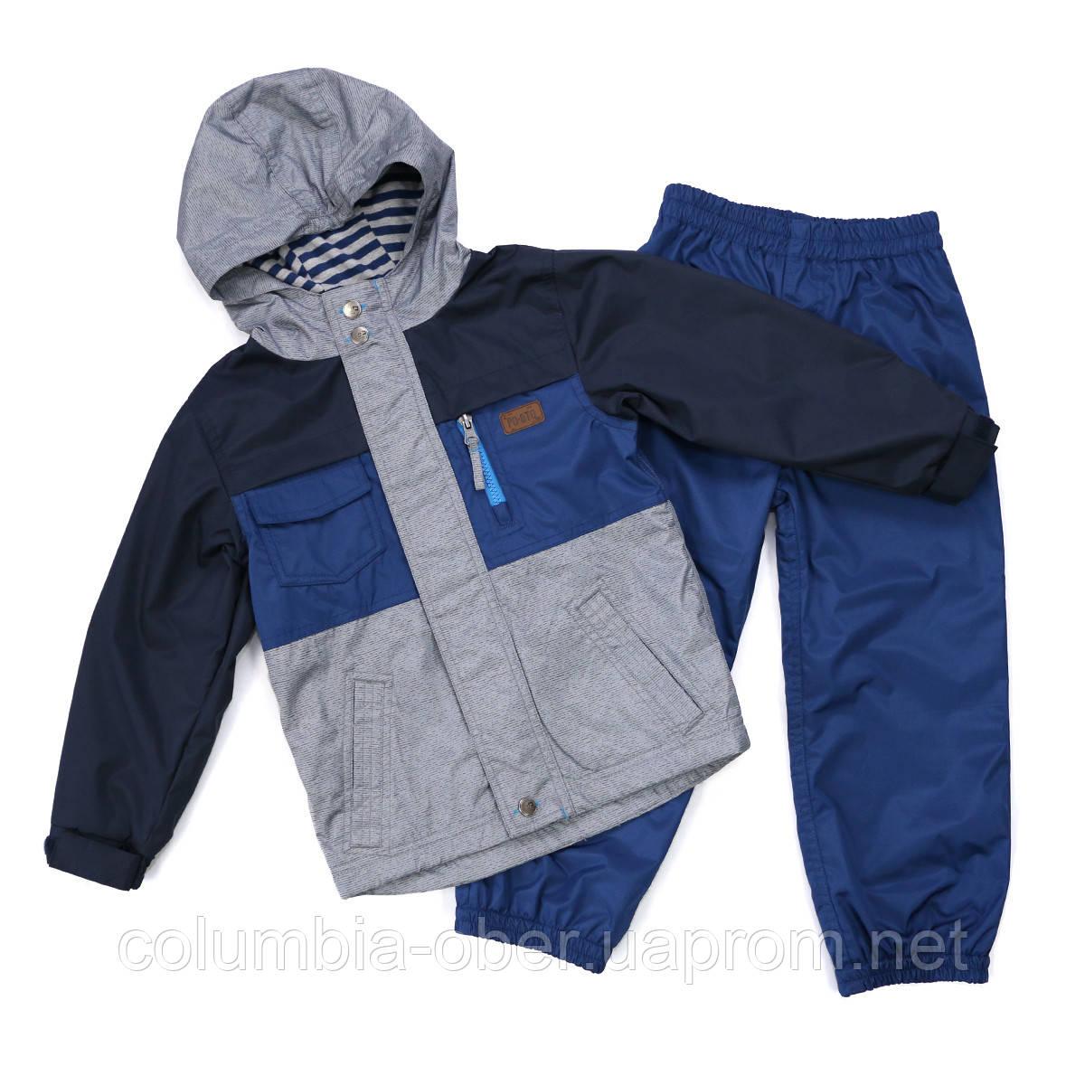 Демисезонный костюм для мальчика Peluche 65 M S17 Dk Denim. Размер 116.