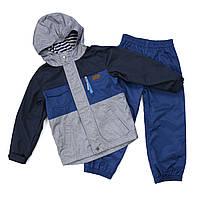 Демисезонный костюм для мальчика Peluche 65 M S17 Dk Denim. Размер 116., фото 1