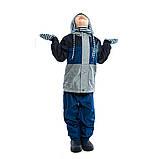 Демисезонный костюм для мальчика Peluche 65 M S17 Dk Denim. Размер 116., фото 6