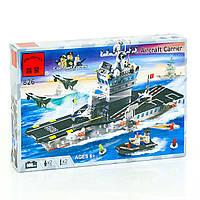 "BRICK 826 (18) ""Авианосец"", 508 деталей, в коробке"