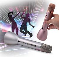 Микрофон караоке KTV-088 с колонкой блютус