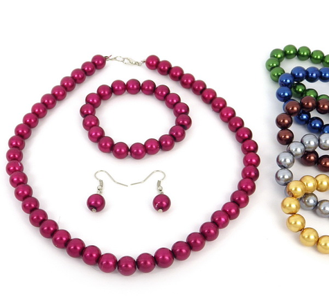 Наборы: бусы, браслеты, серьги (6наб.уп.) (Код: nabor_00316), фото 2