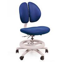 Кресло обивка синяя однотонная MEALUX Y-616 KB